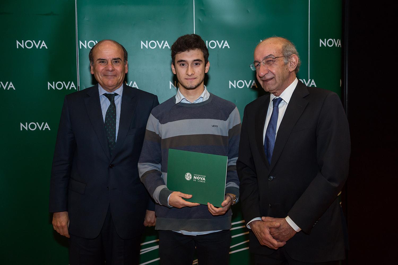 Reitor da NOVA, António Sousa - estudante de Engenharia Mecânica, e Diretor da Faculdade de Ciências e Tecnologia da NOVA