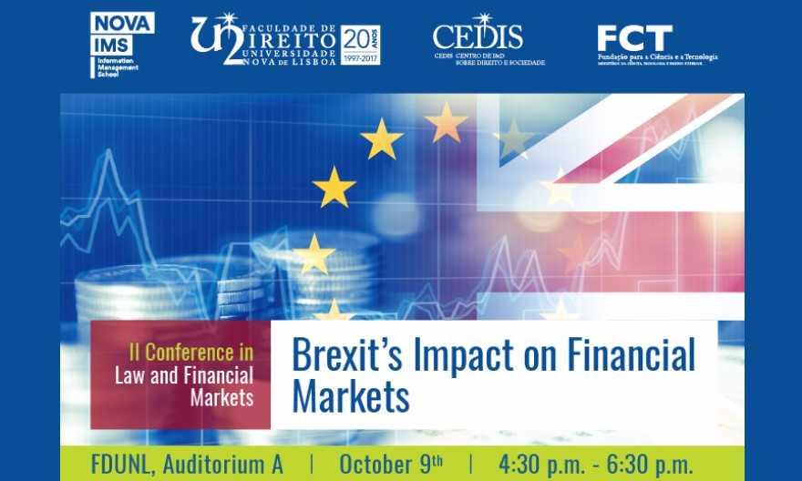 II Conferência em Direito e Mercados Financeiros: O Impacto do Brexit em Mercados Financeiros