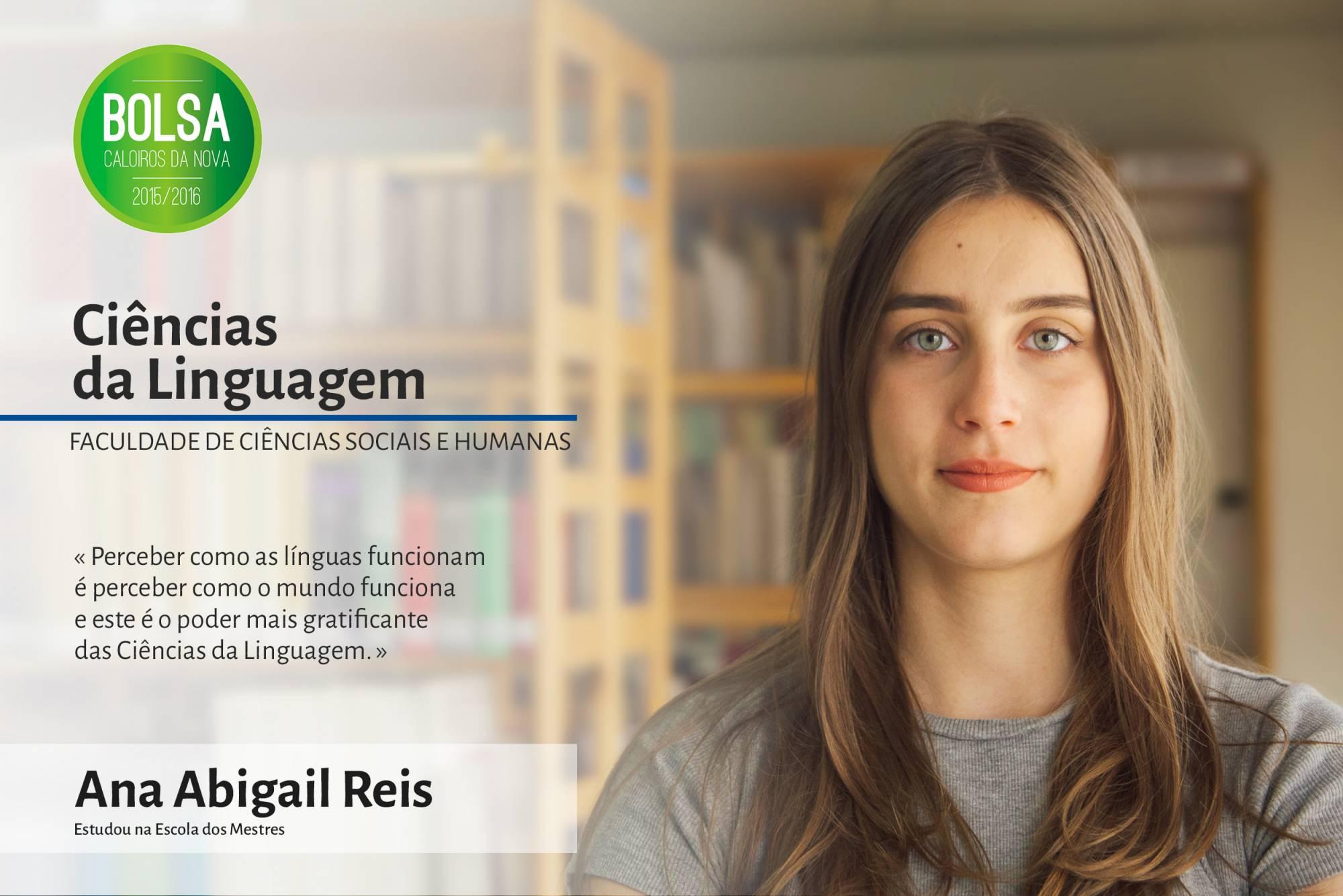 Ana Abigail Reis, Faculdade de Ciências Sociais e Humanas da NOVA