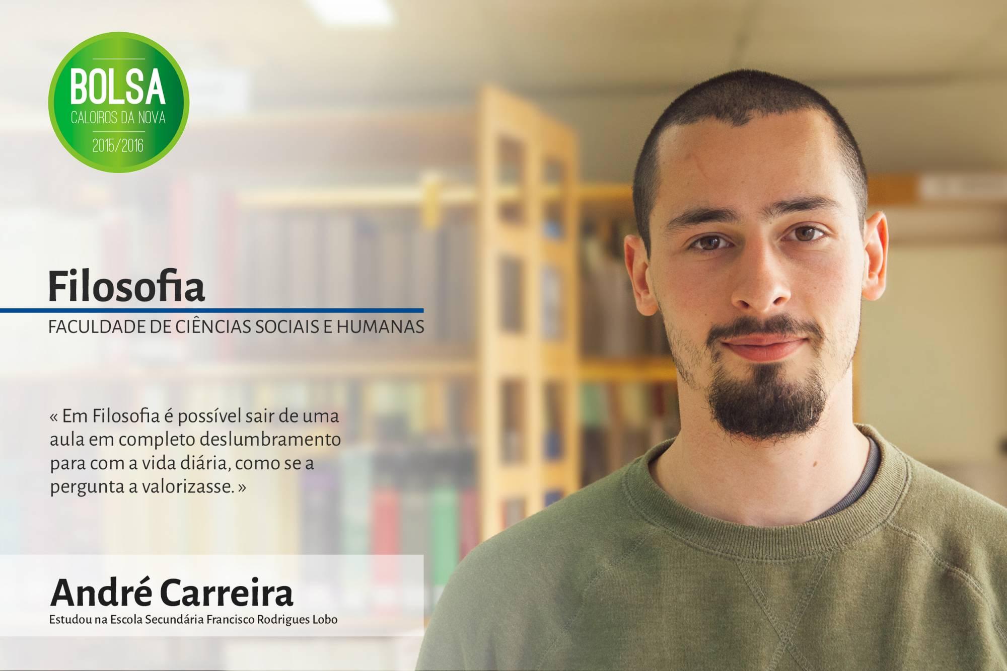 André Carreira, Faculdade de Ciências Sociais e Humanas da NOVA