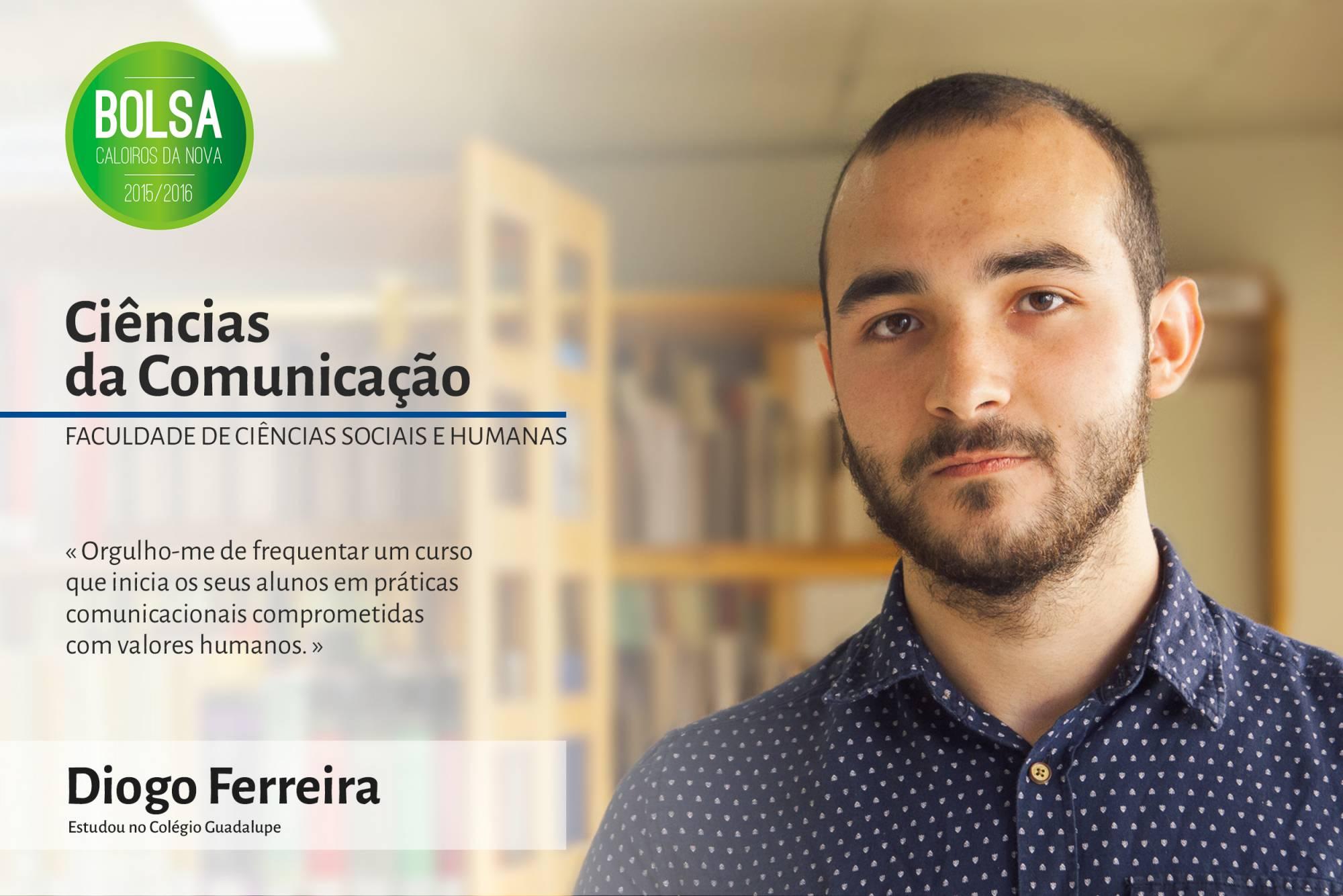 Diogo Costa Ferreira, Faculdade de Ciências Sociais e Humanas da NOVA