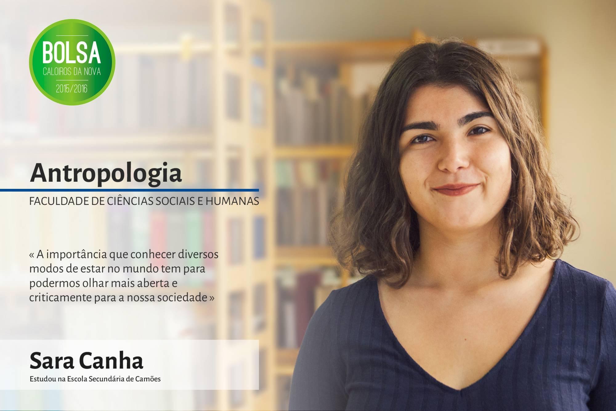 Sara Canha, Faculdade de Ciências Sociais e Humanas da NOVA