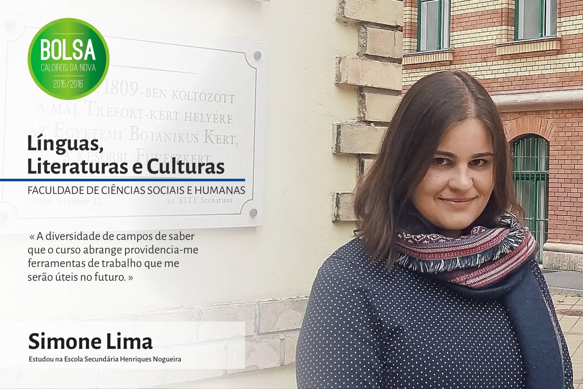 Simone Lima, Faculdade de Ciências Sociais e Humanas da NOVA