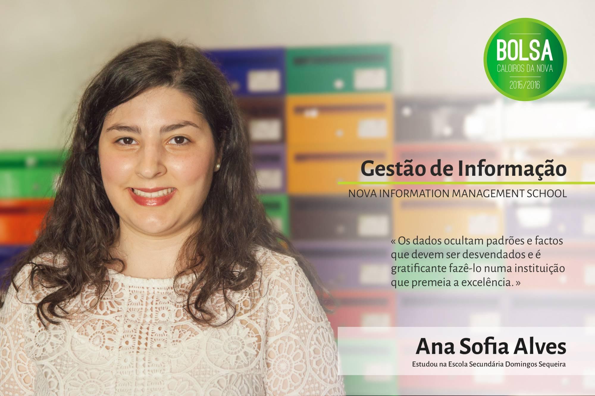 Ana Sofia Alves, NOVA Information Management School