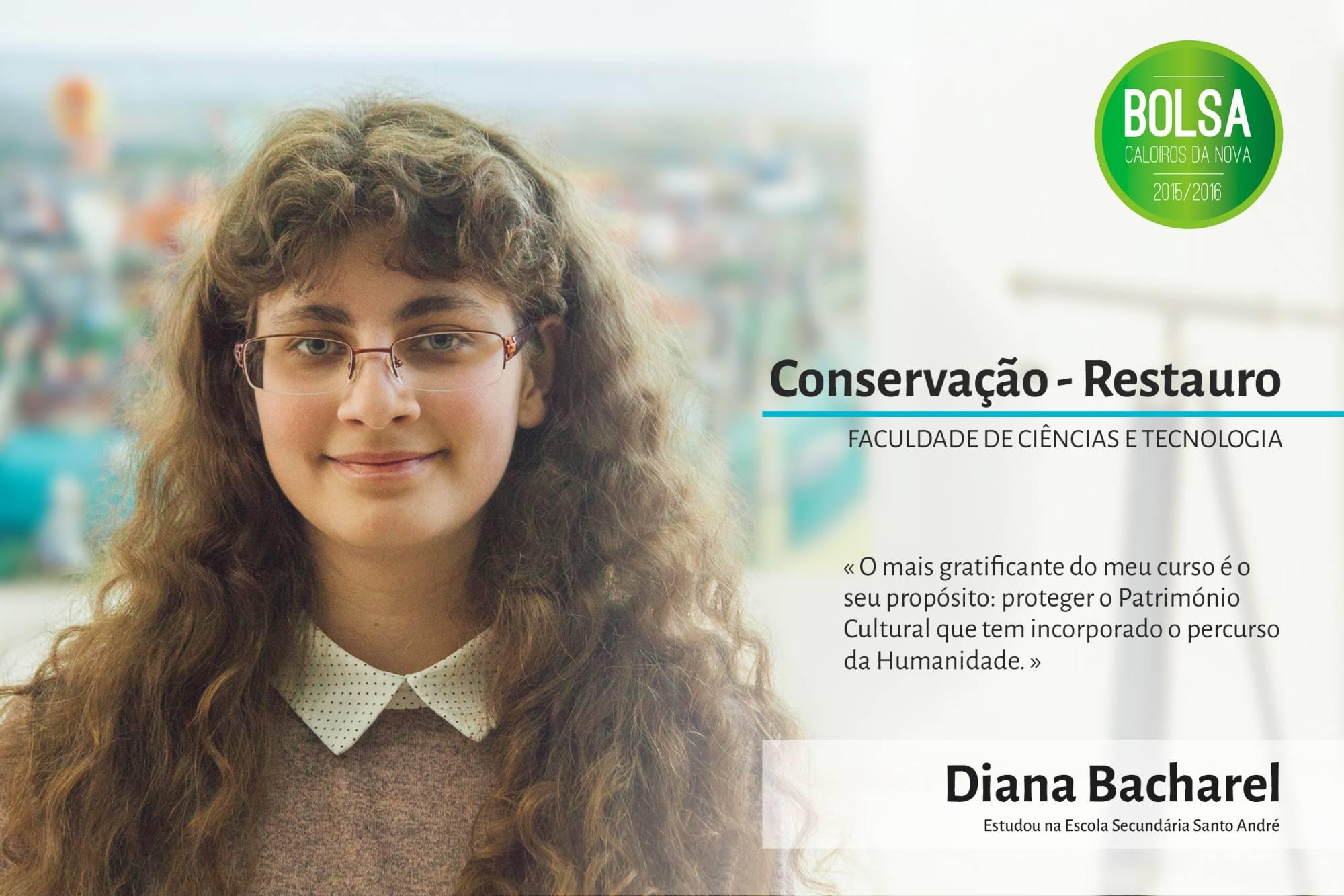 Diana Bacharel, Faculdade de Ciências e Tecnologia da NOVA