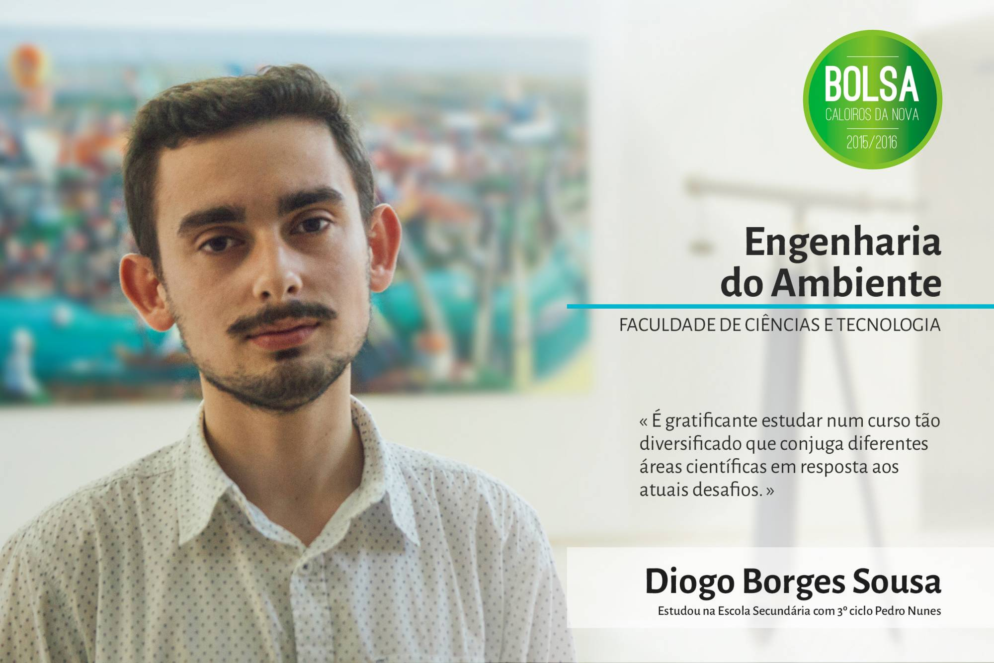 Diogo Sousa, Faculdade de Ciências e Tecnologia da NOVA