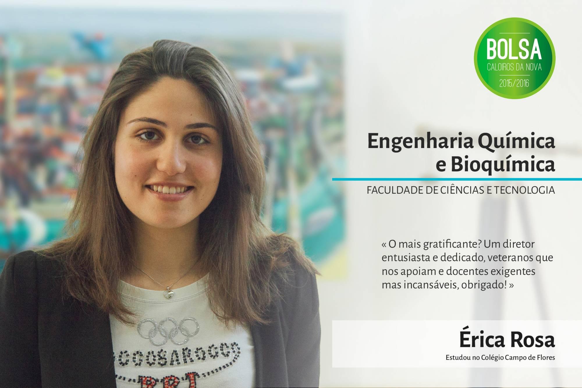 Érica Rosa, Faculdade de Ciências e Tecnologia da NOVA