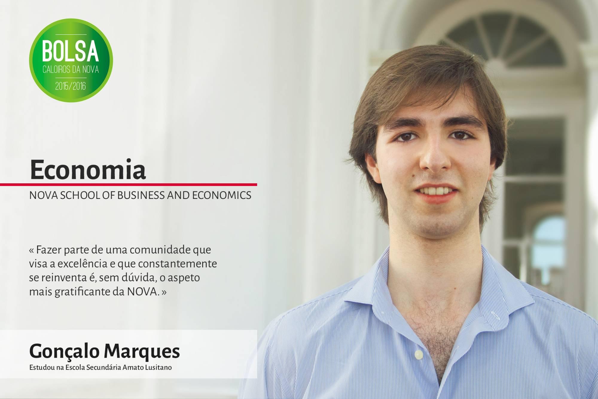 Gonçalo Marques, NOVA School of Business and Economics