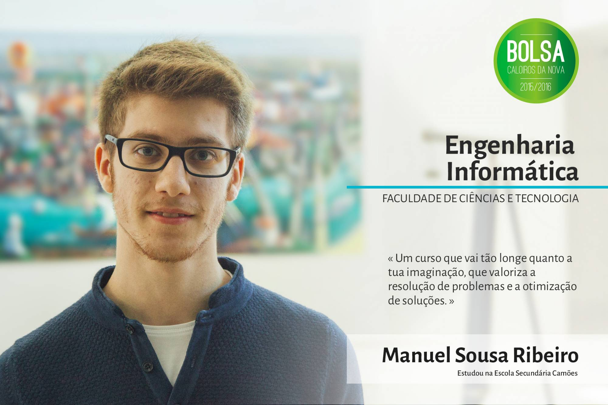 Manuel Sousa Ribeiro, Faculdade de Ciências e Tecnologia da NOVA