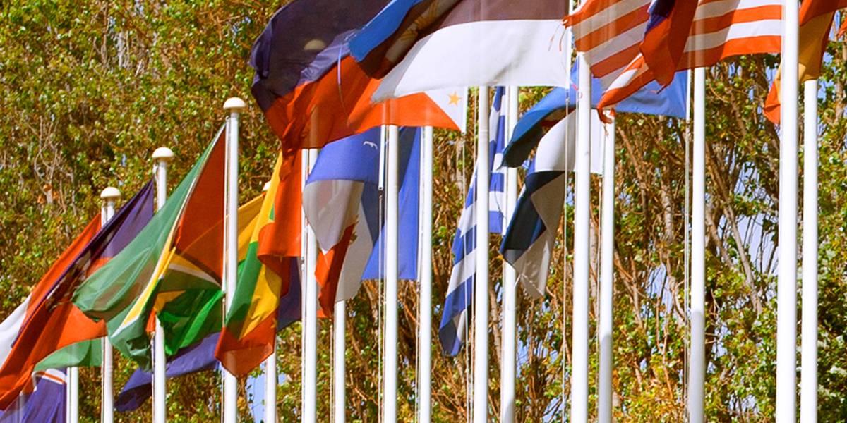 Alunos de 103 países diferentes