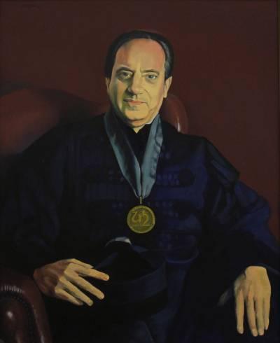 Retrato de João José Fraústo da Silva (pintado por Sá Nogueira em 1988)