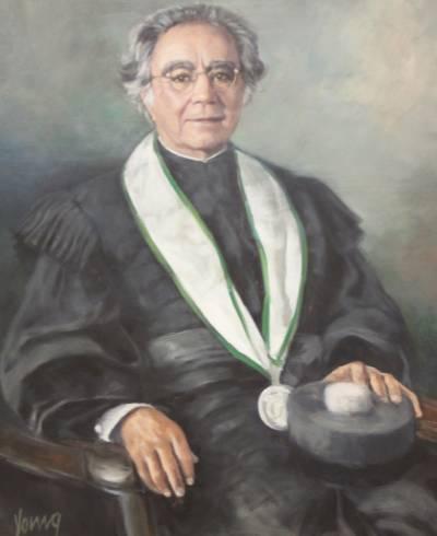 Retrato de Leopoldo Guimarães (pintado por Michael Yours em 2007)