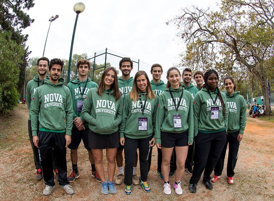 NOVA Desporto athletes at the Tennis CNU