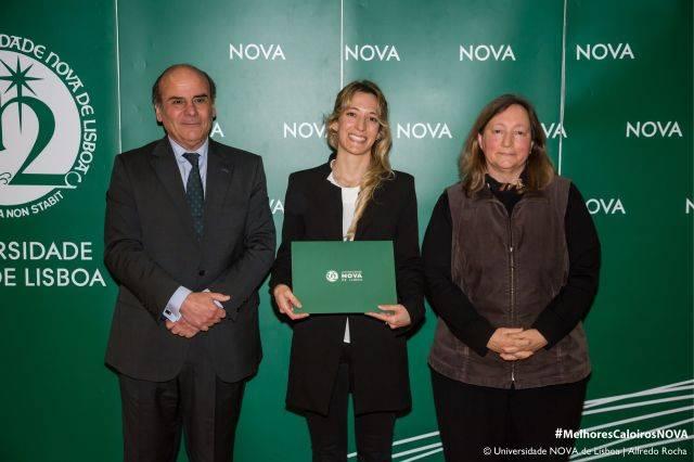 Reitor da NOVA, Maria Ana Tavares - estudante de Direito, e Diretora da Faculdade de Direito da NOVA