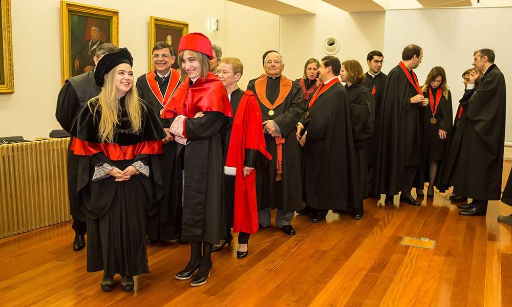 Formação do Cortejo Académico