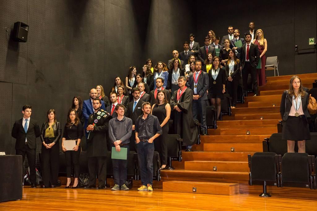 Novos Doutores e Homenageados no Dia da NOVA