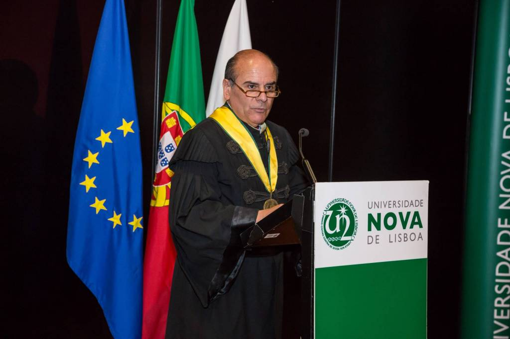 António Rendas delivered the laudation of the awardee