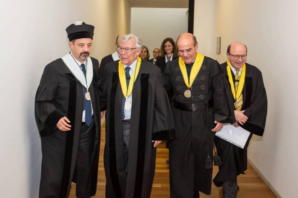 João Sàágua, António de Barros Veloso, António Rendas e Jaime da Cunha Branco