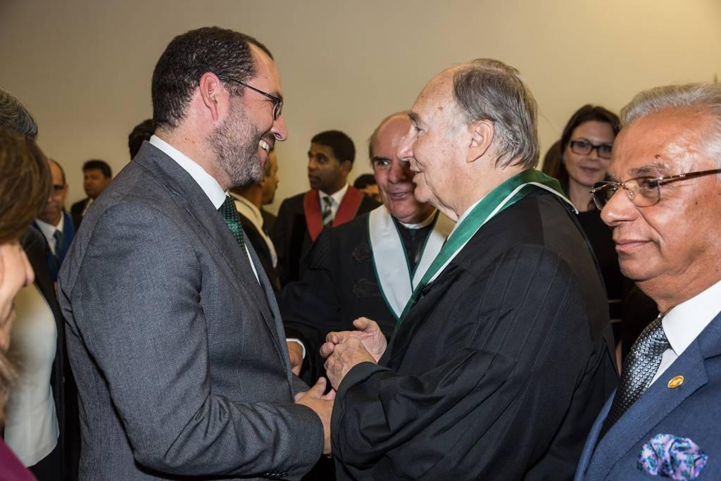 João Costa and Prince Aga Khan