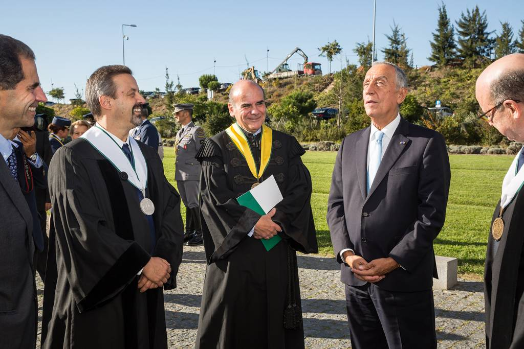 João Sàágua, António Rendas and Marcelo Rebelo de Sousa