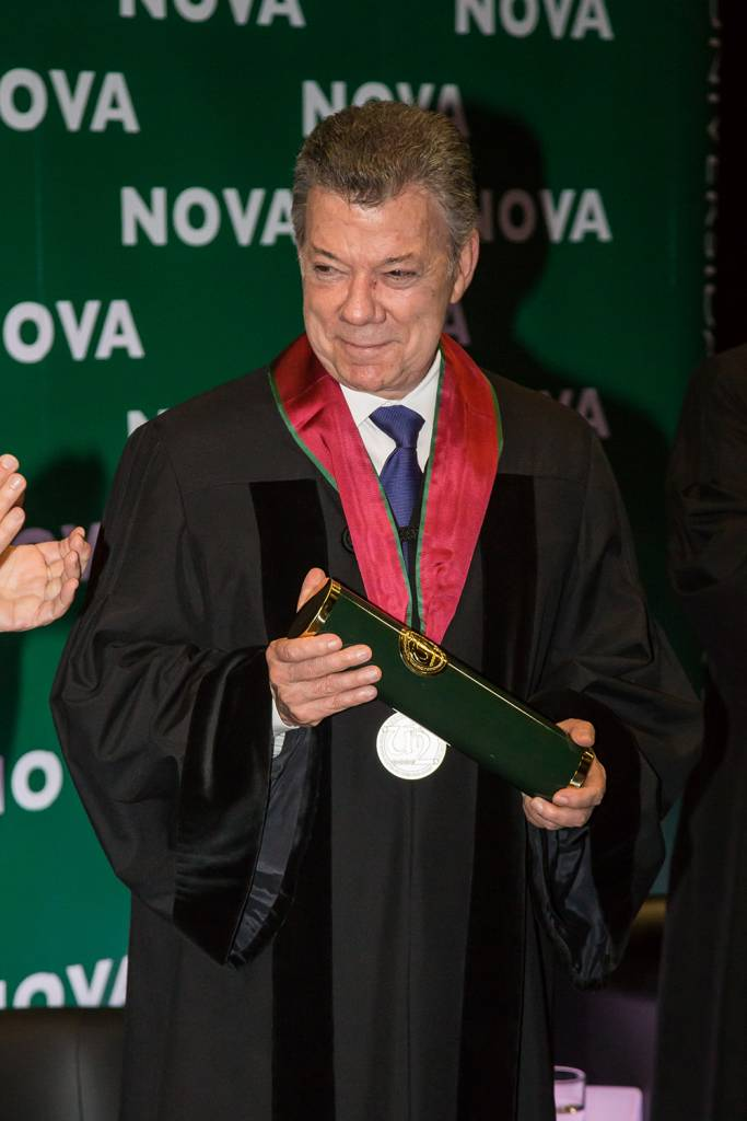 Juan Manuel Santos, President of the Republic of Colombia