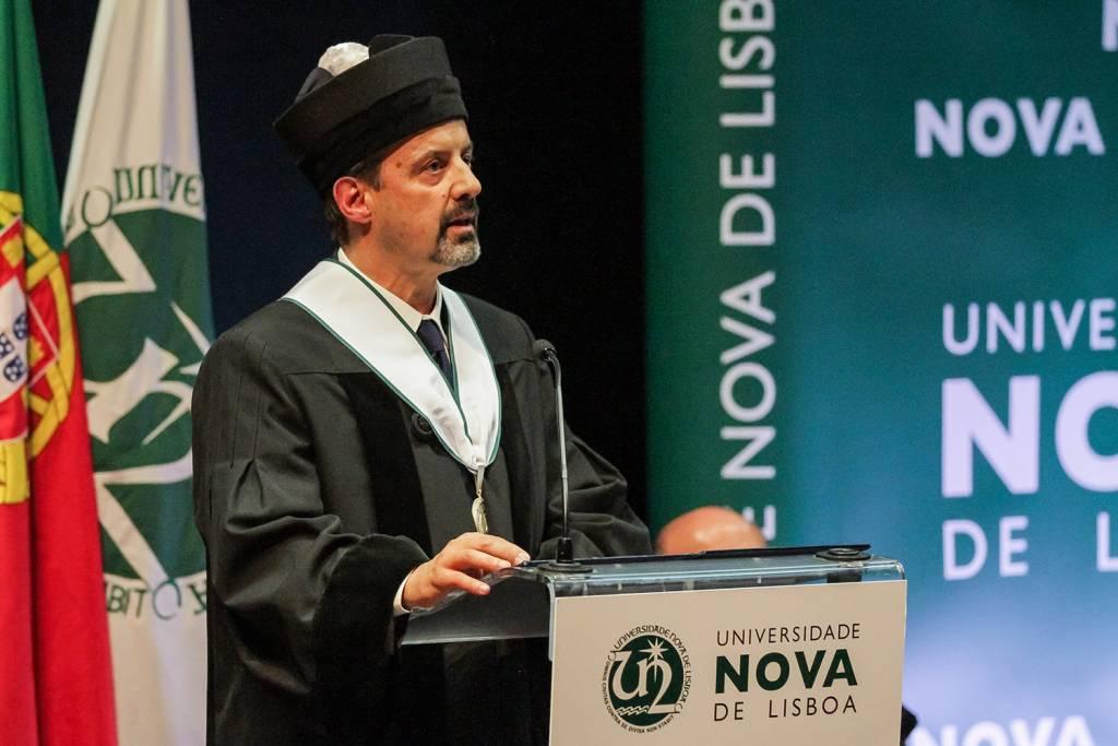 João Sàágua, Rector of NOVA