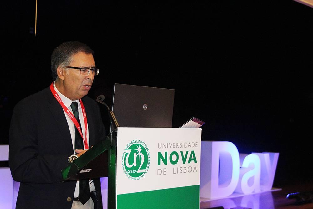 Professor Virgílio Machado, Diretor da Faculdade de Ciências e Tecnologia