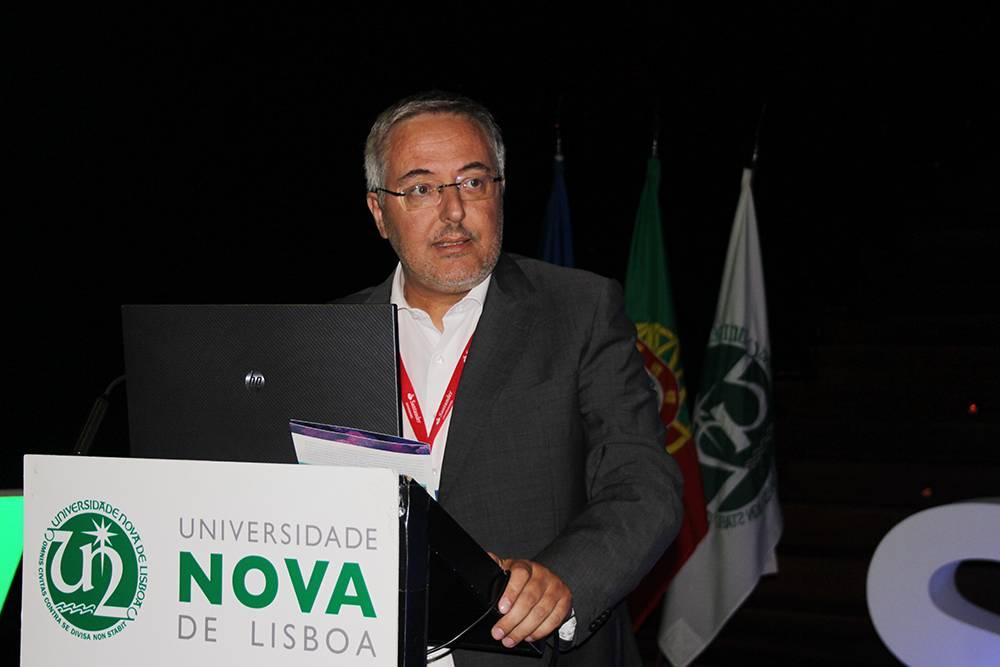 Professor Cláudio Soares, Diretor do Instituto de Tecnologia Química e Biológica António Xavier