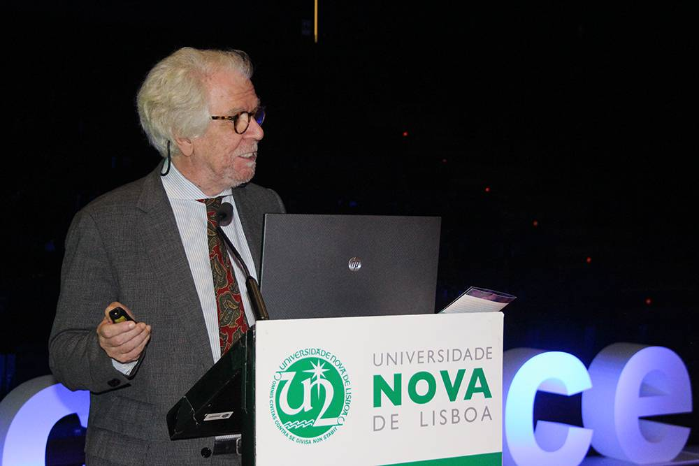Professor Armando Marques Guedes, em representação da Faculdade de Direito