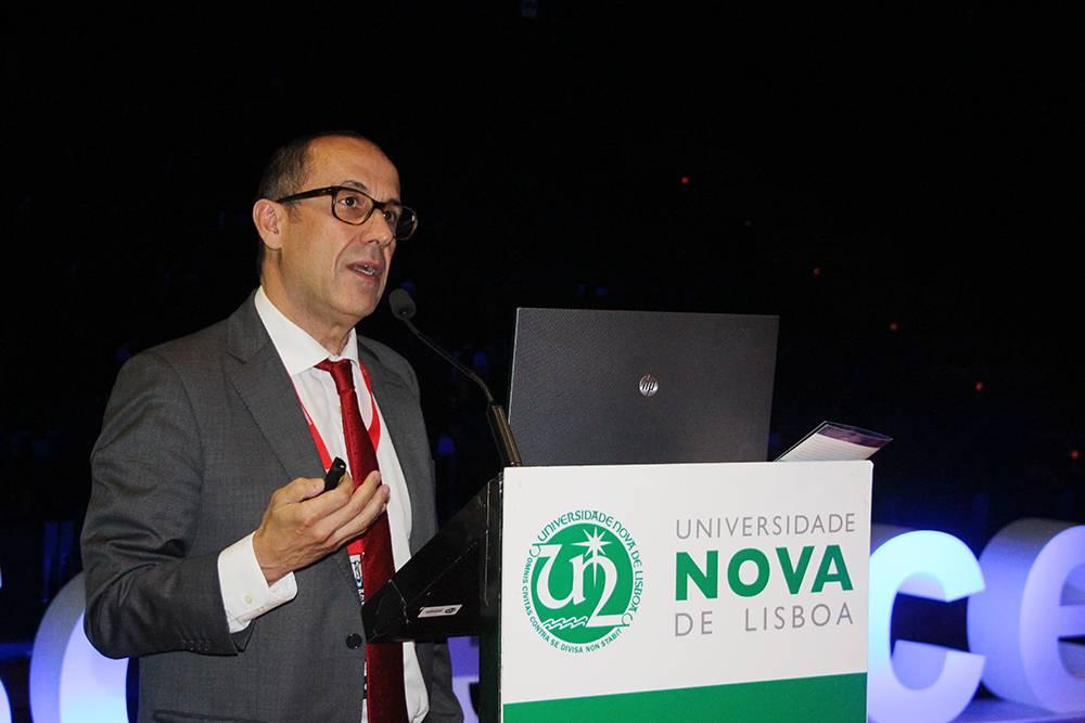 Professor António Jacinto, em representação da NOVA Medical School | Faculdade de Ciências Médicas