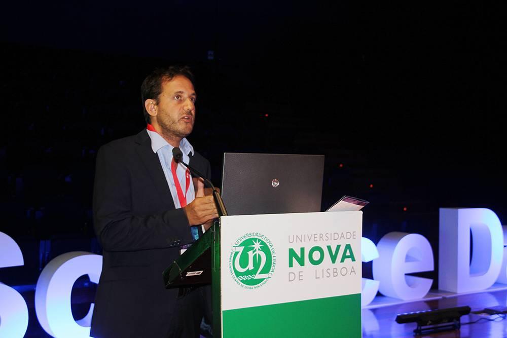 Professor Julian Perelman, em representação da Escola Nacional de Saúde Pública