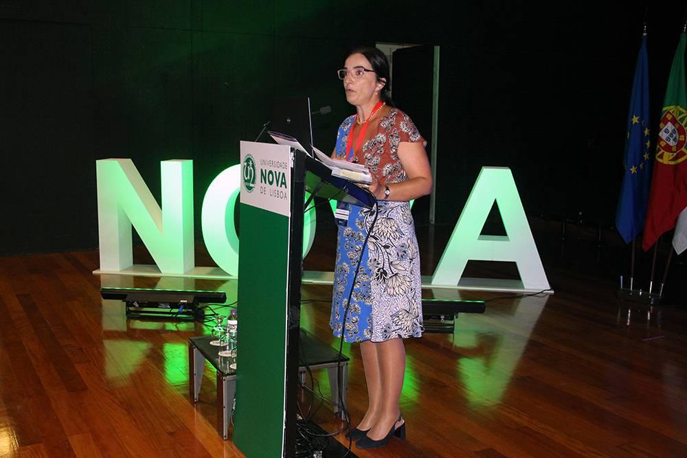 Professora Elvira Fortunato, Vice-Reitora da NOVA