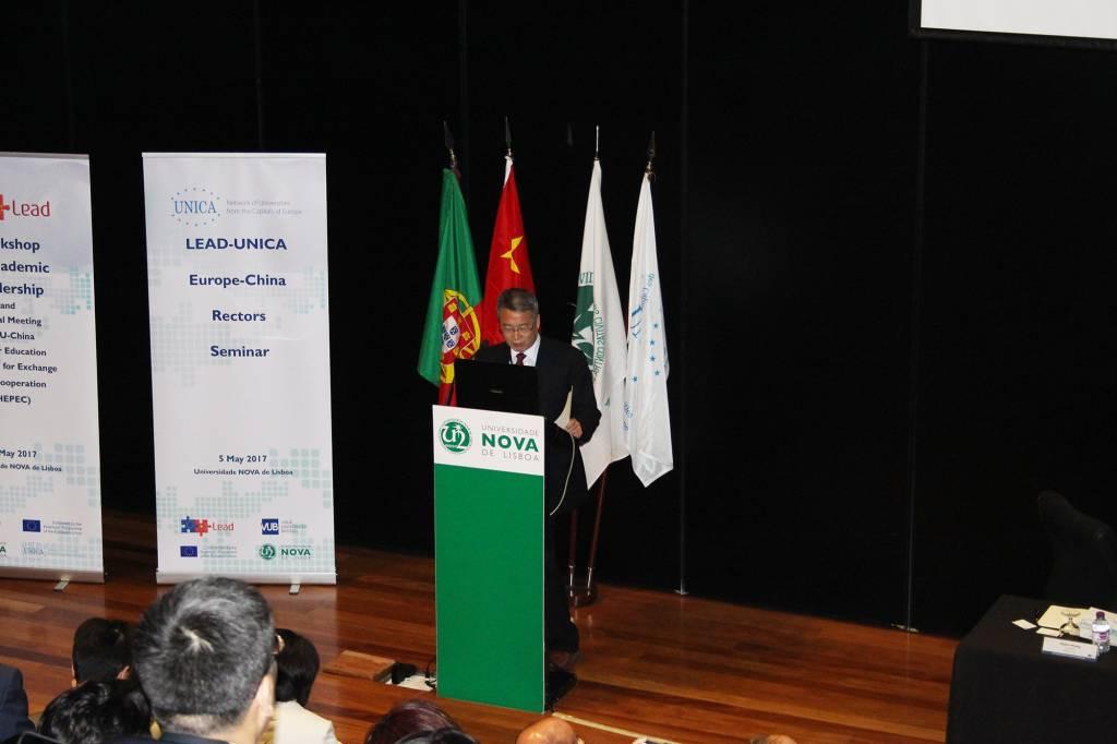 Run Cai, Chinese Ambassador to Portugal