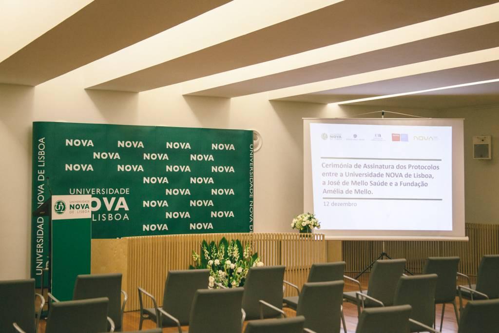 Cerimónia de Assinatura de Protocolos entre a NOVA, a José de Mello Saúde e a Fundação Amélia de Mello