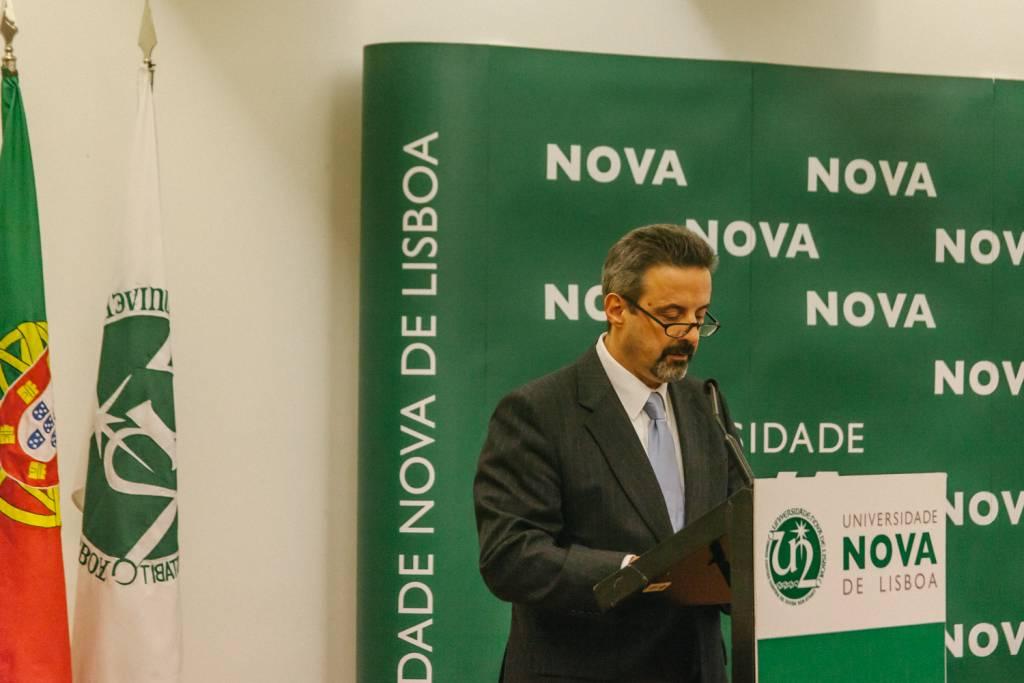 João Sàágua, Rector of  Universidade NOVA de Lisboa