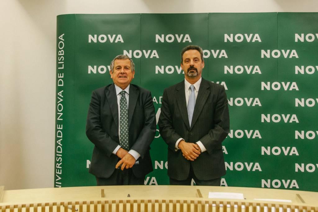 Vasco de Mello and João Sàágua
