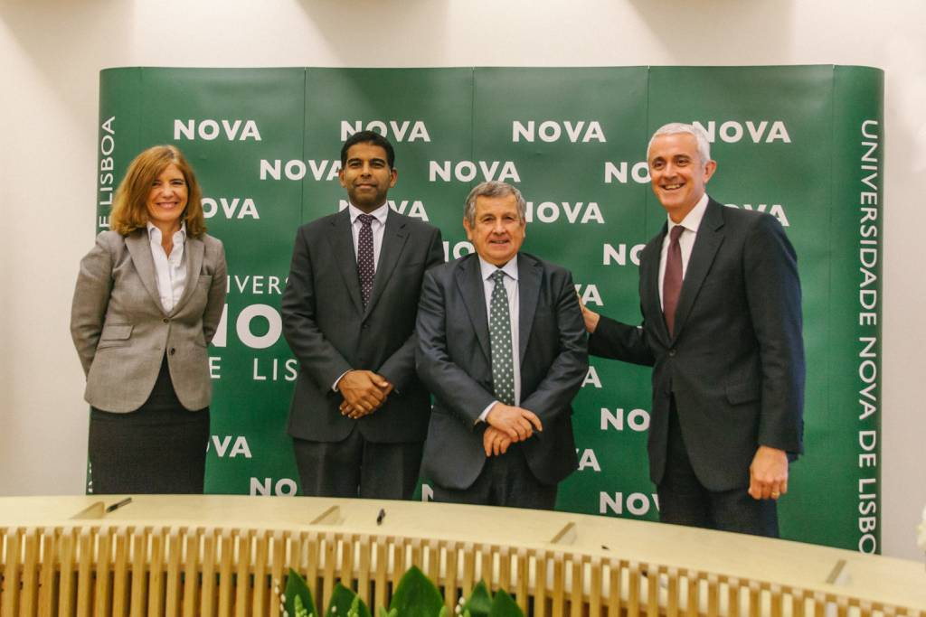 Belén de Vicente, Daniel Traça, Vasco de Mello and Pedro Santa Clara