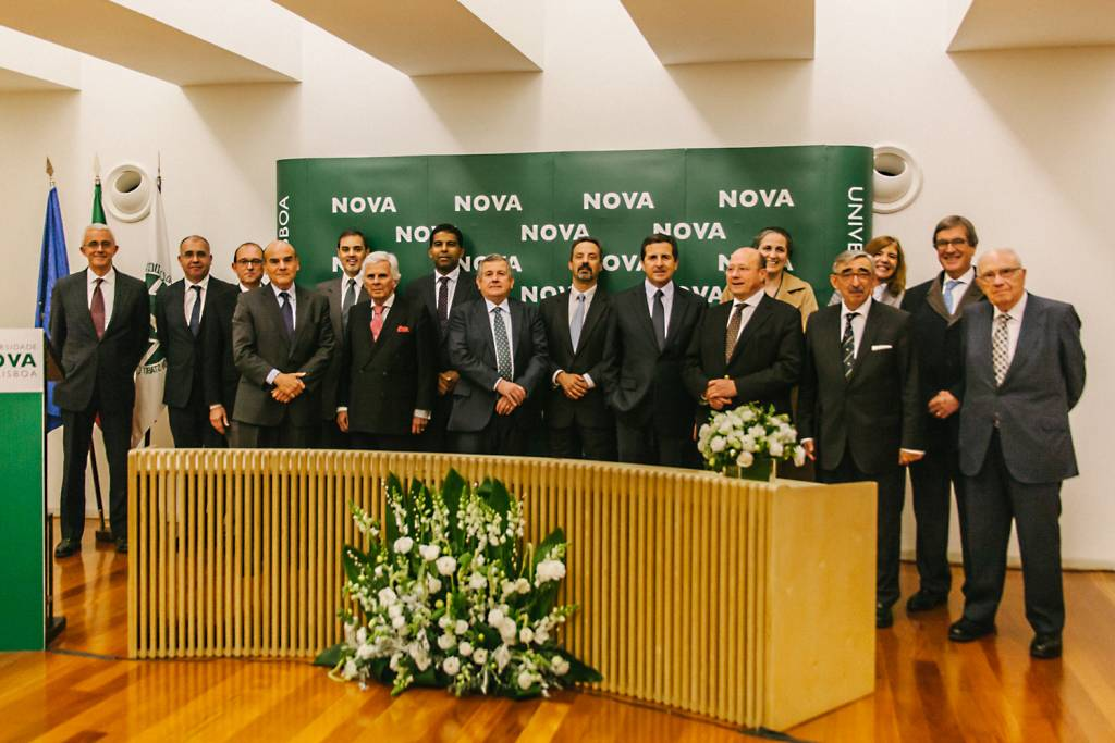 Ceremony of Signature of Protocols between NOVA, José de Mello Saúde and Amélia de Mello Foundation