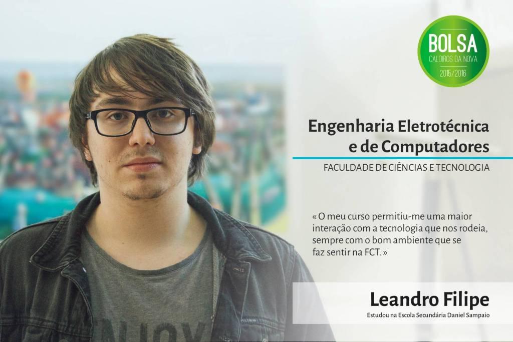 Leandro Filipe, Faculdade de Ciências e Tecnologia da NOVA