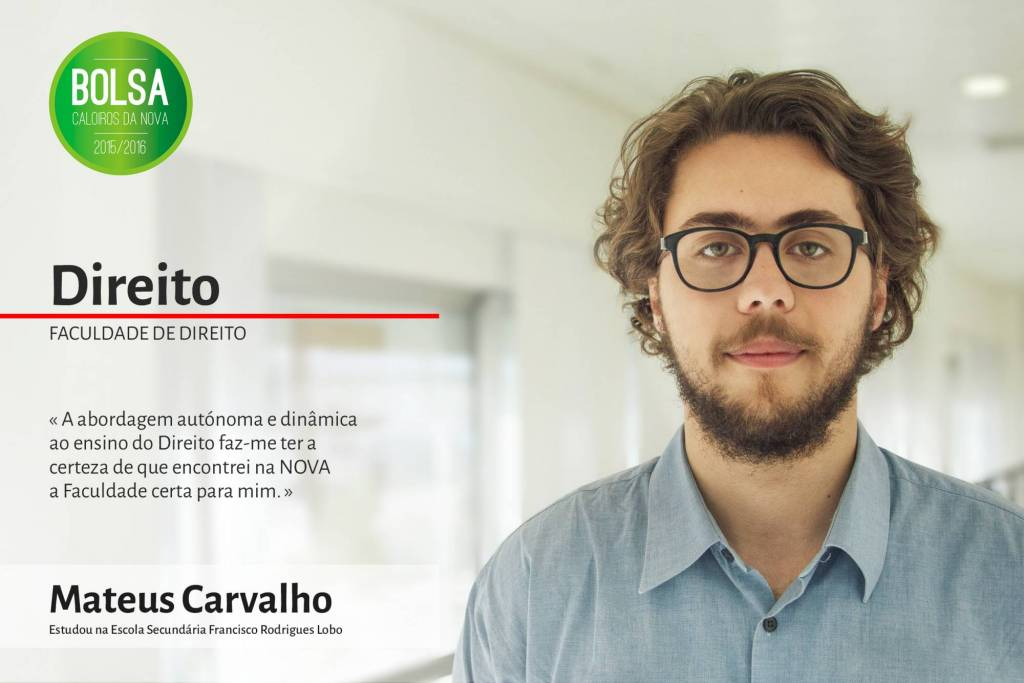 Mateus Carvalho, Faculdade de Direito da NOVA