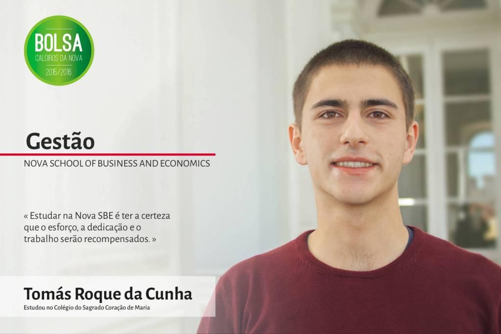 Tomás Roque da Cunha, NOVA School of Business and Economics