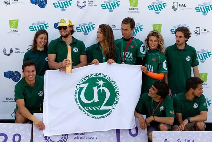 Equipa de Surf da NOVA