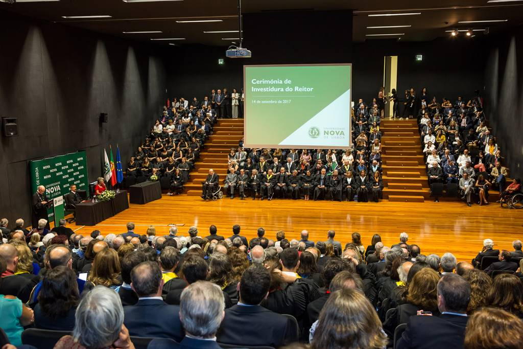 Inauguration ceremony of the Rector