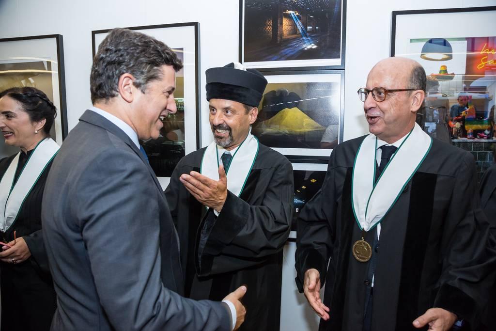 Manuel Caldeira Cabral, João Sàágua e José Ferreira Machado