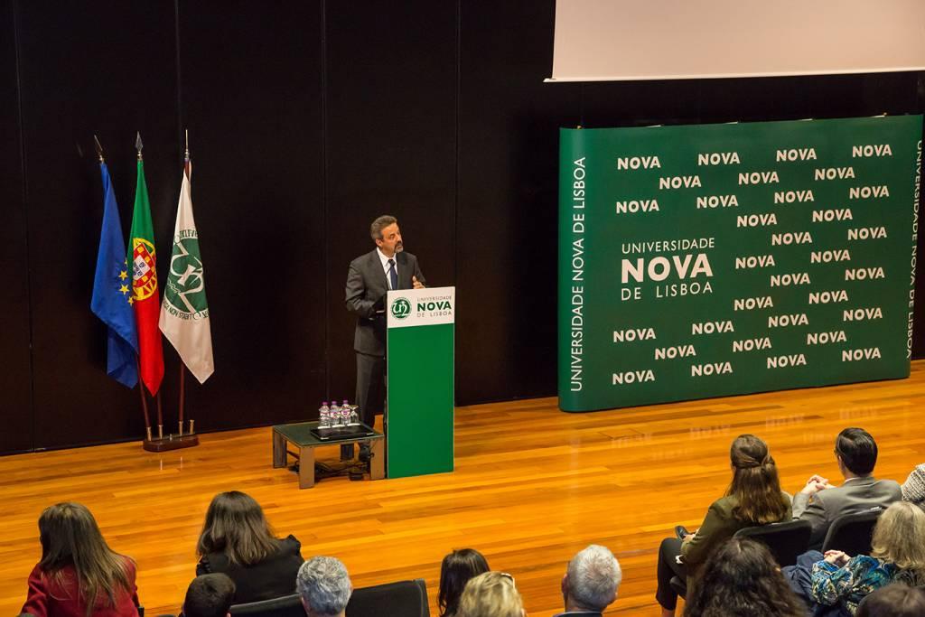 Rector of NOVA, Prof. João Sàágua
