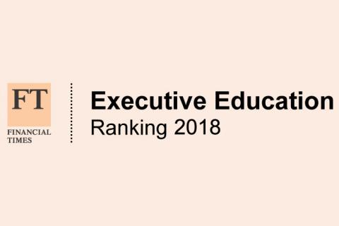 FT Executive Education Ranking 2018
