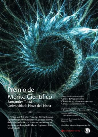1.ª edição do Prémio Santander Totta/Universidade Nova de Lisboa