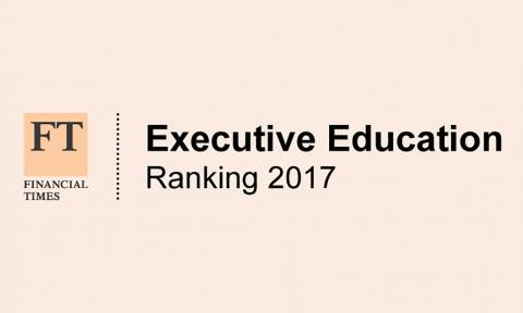 Logo FT Executive Education Rankings 2017