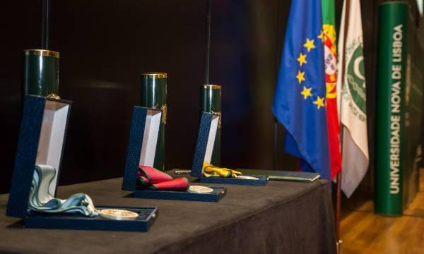 Johan Schot, João Salgueiro e João Cutileiro receberam título de Doutor Honoris Causa pela Universidade NOVA de Lisboa