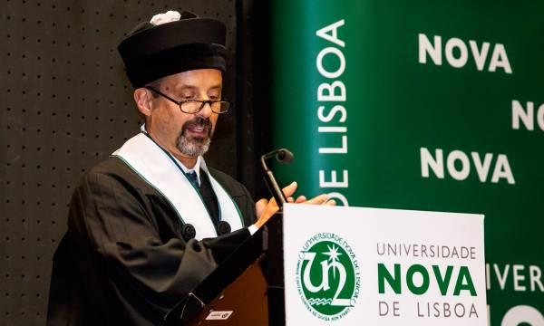 Tomada de Posse do Reitor da NOVA - Professor João Sàágua